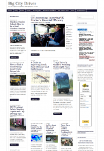 Magazine basic WordPress Theme screenshot