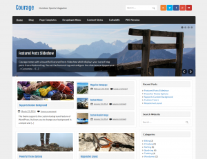 Courage WordPress Theme by Themezee